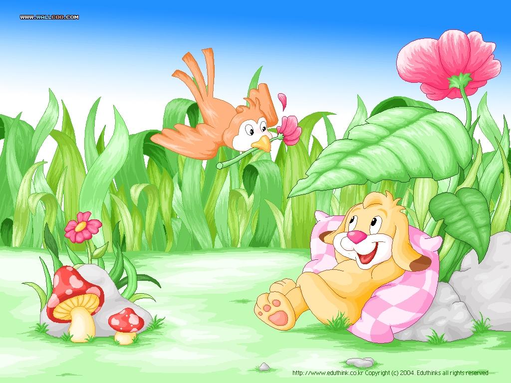 Cartoon Wallpapers 1024x768