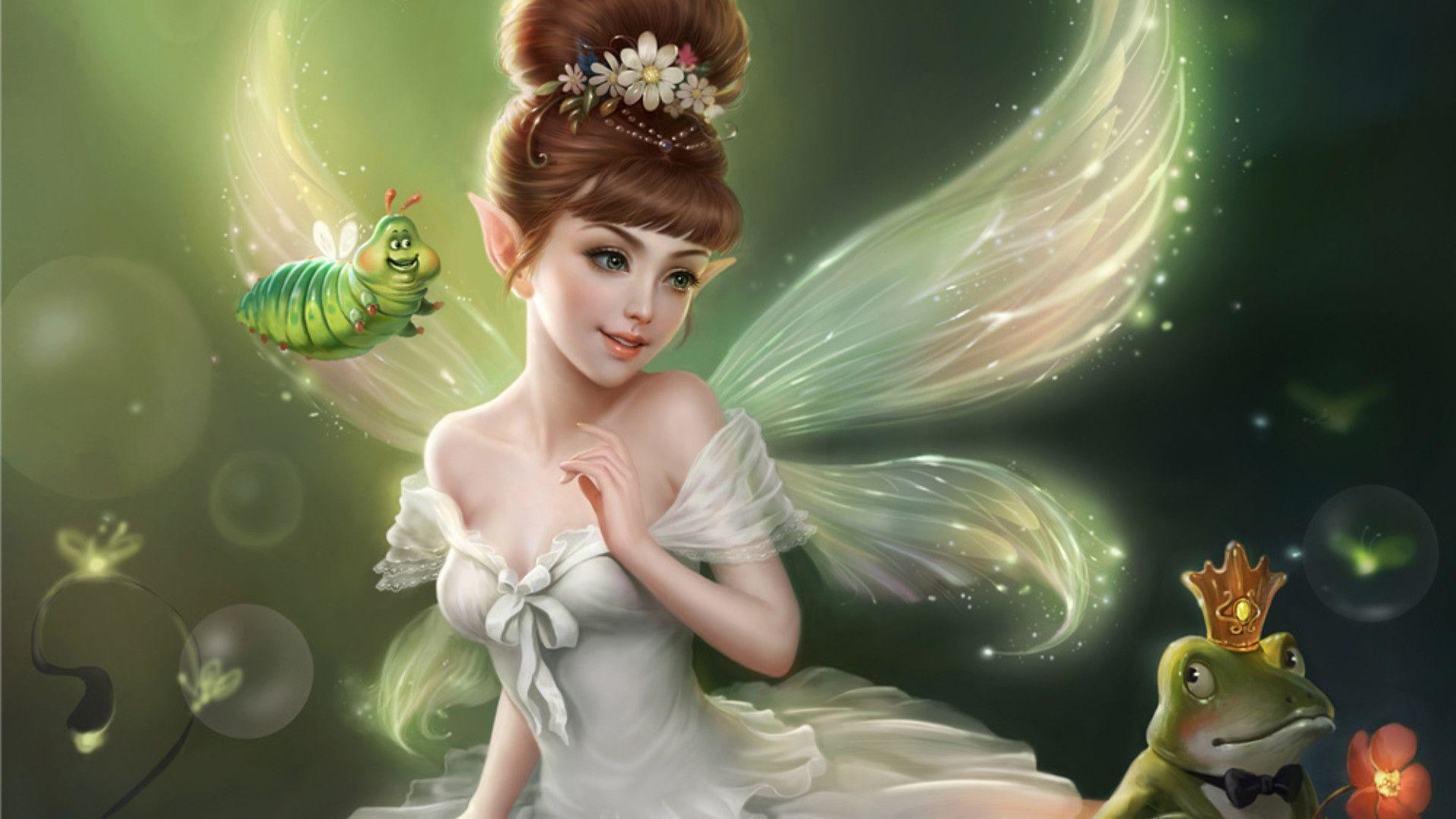 70 Hd Fairy Wallpapers on WallpaperPlay 1920x1080