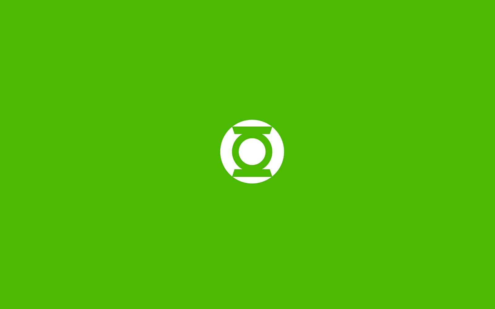 Green Lantern Comics Logo Minimal HD Wallpaperswallpapers 1600x1000