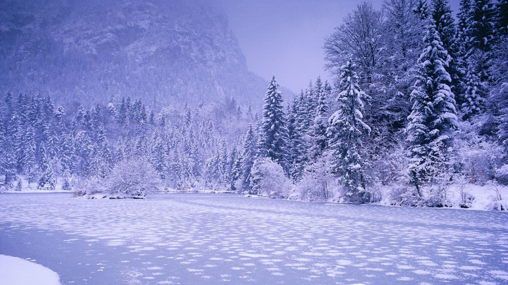 Hd winter wallpapers 1080p wallpapersafari - Wallpaper hd nature winter ...