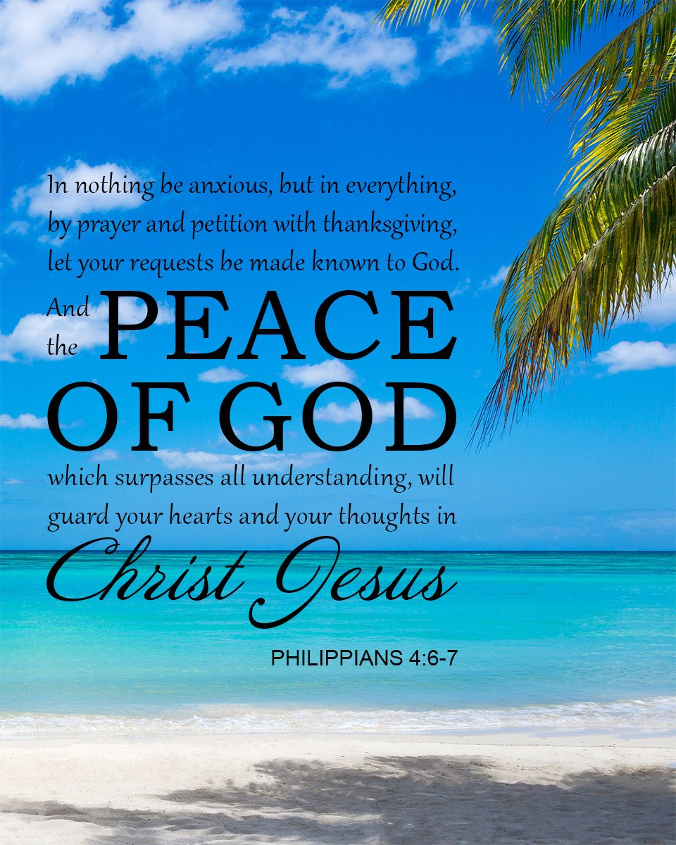 Philippians 46 7 Peace of God   Bible Verse Art Downloads 960x1200