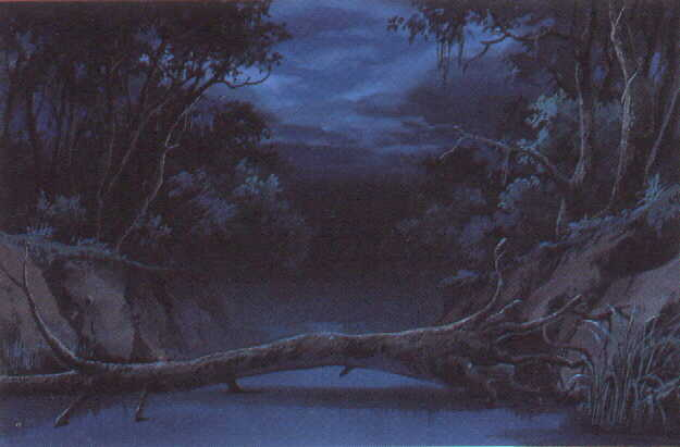 Anime Forest Background Scary forest 625x411