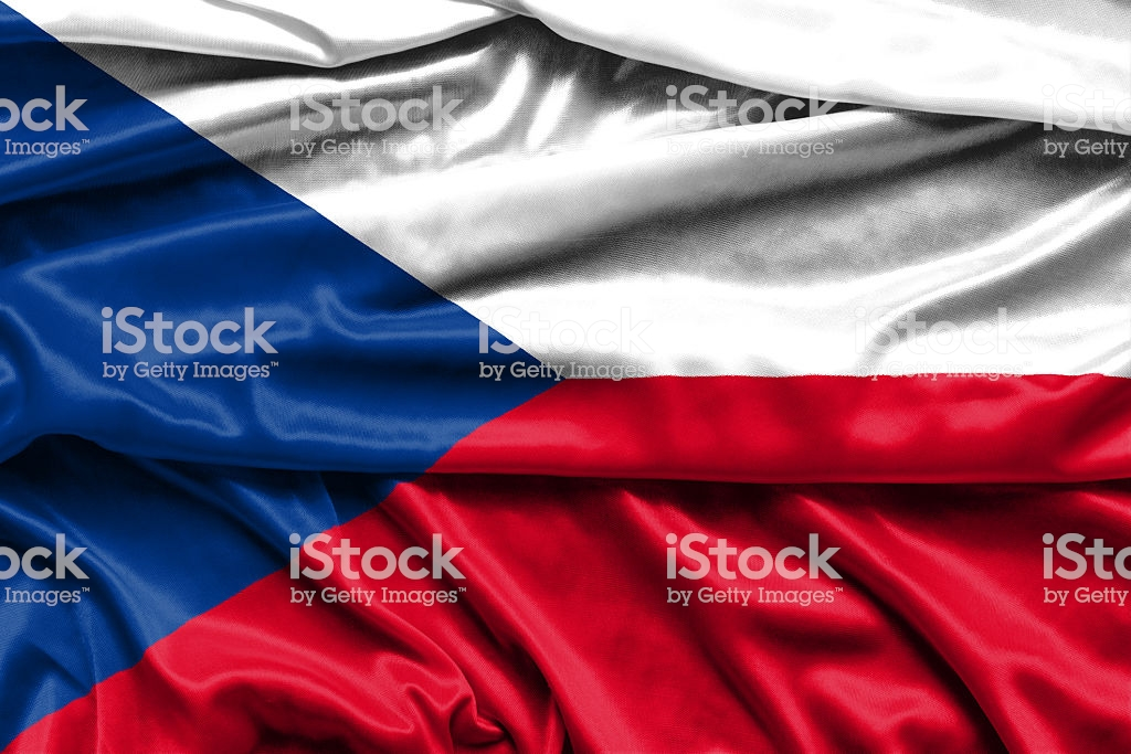 Flag Of The Czech Republic Fabric Background Wallpapers Stock 1024x683