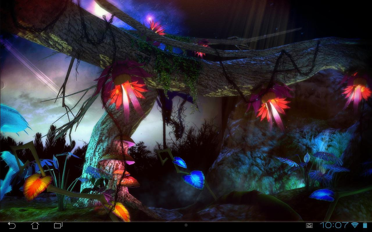 Alien Jungle 3D Live Wallpaper   Android Apps on Google Play 1280x800