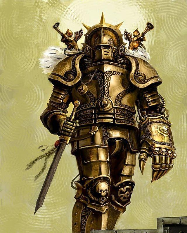 Art of Warhammer su Instagram In Warhammer 40000 background 640x800