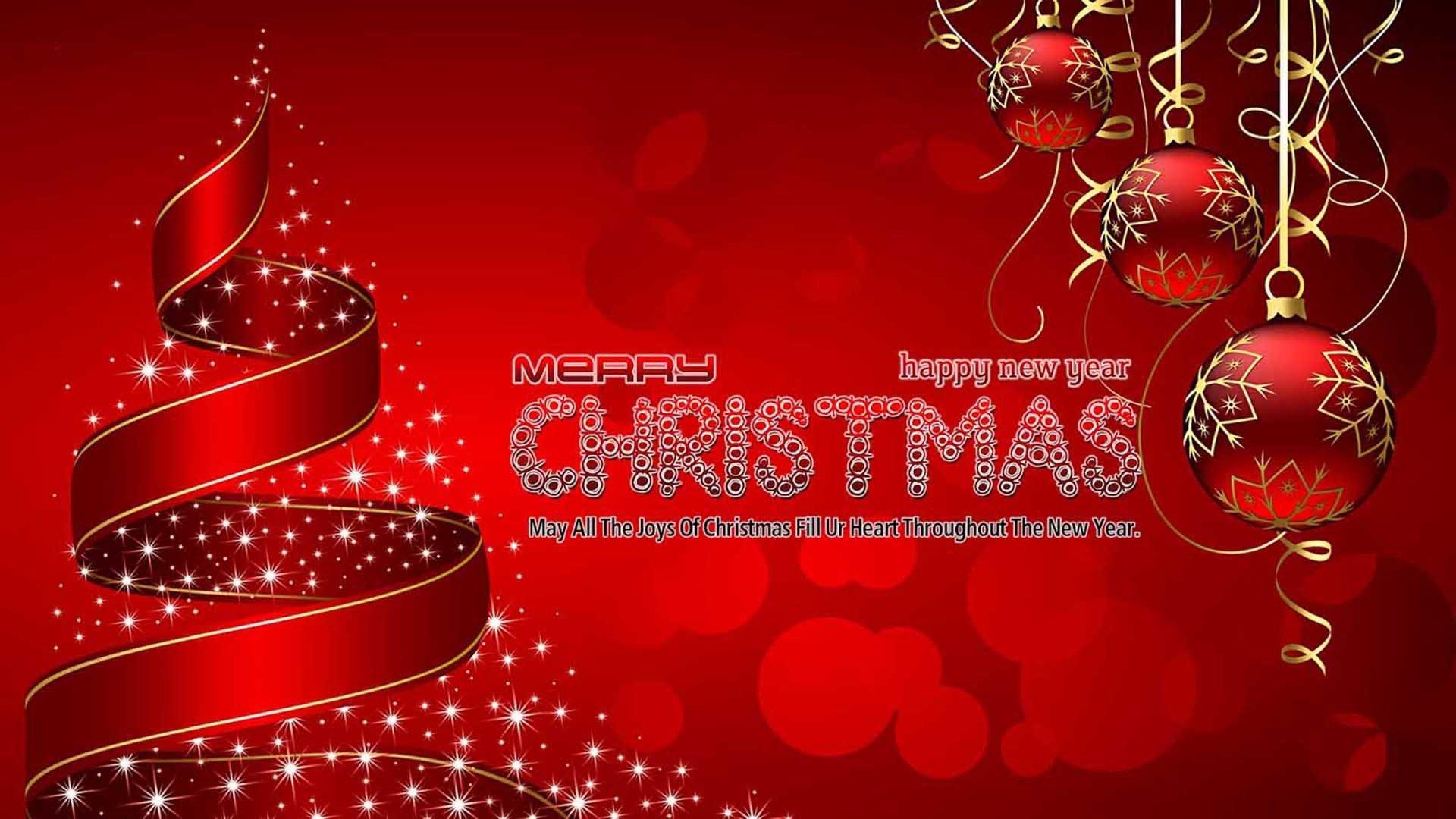 Merry Christmas Happy New Year 2020 Christmas Greetings Desktop Hd 1920x1080