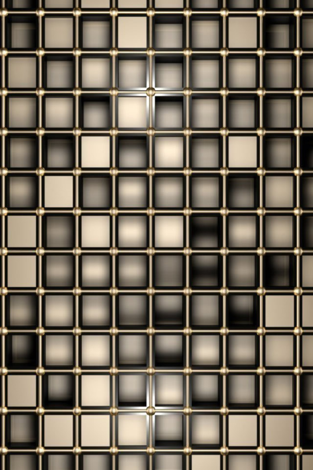 Bronze Squares iPhone 4s Wallpaper Download iPhone Wallpapers iPad 640x960