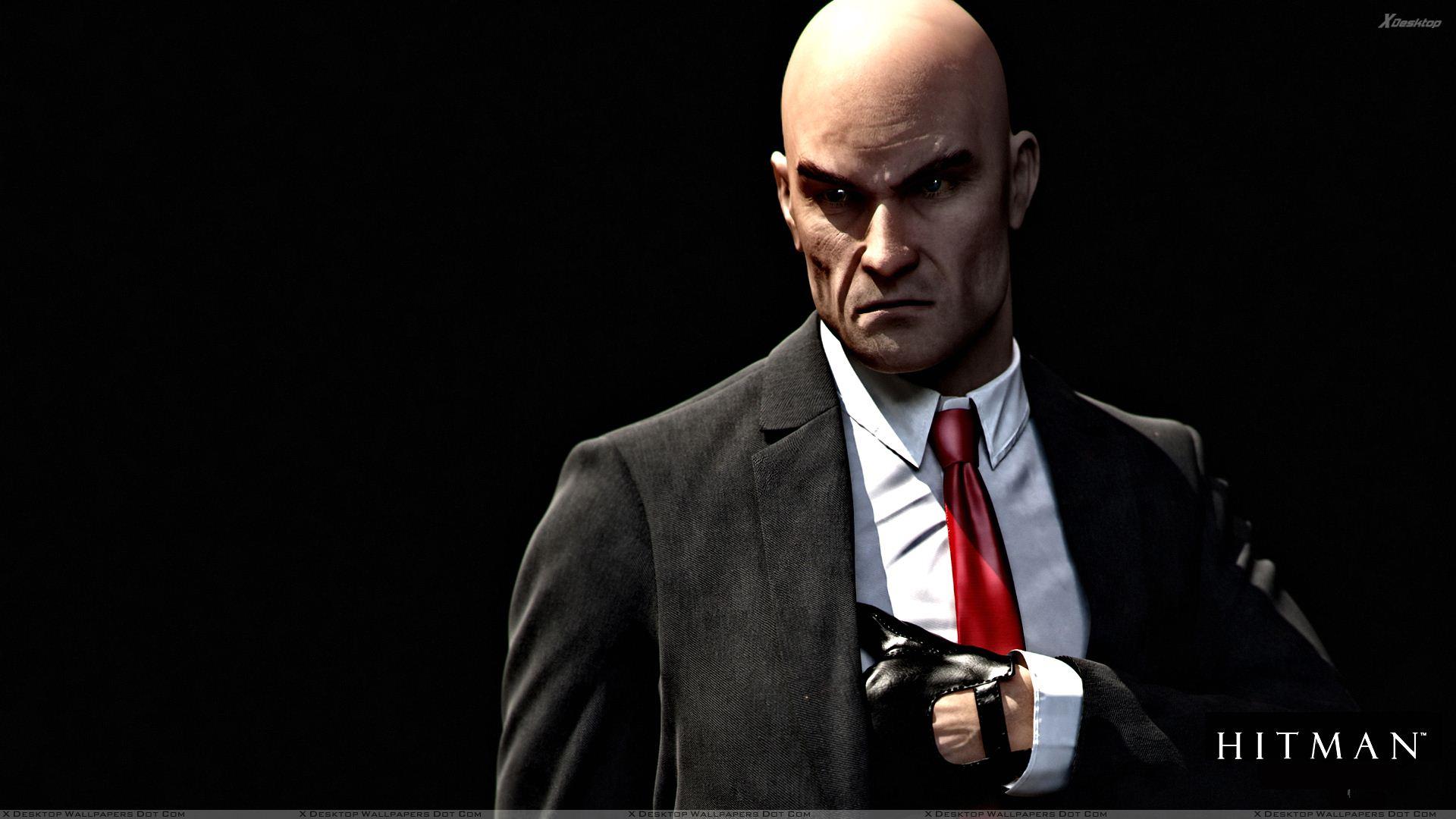 Hitman Absolution Pulling The Gun Out Wallpaper 1920x1080