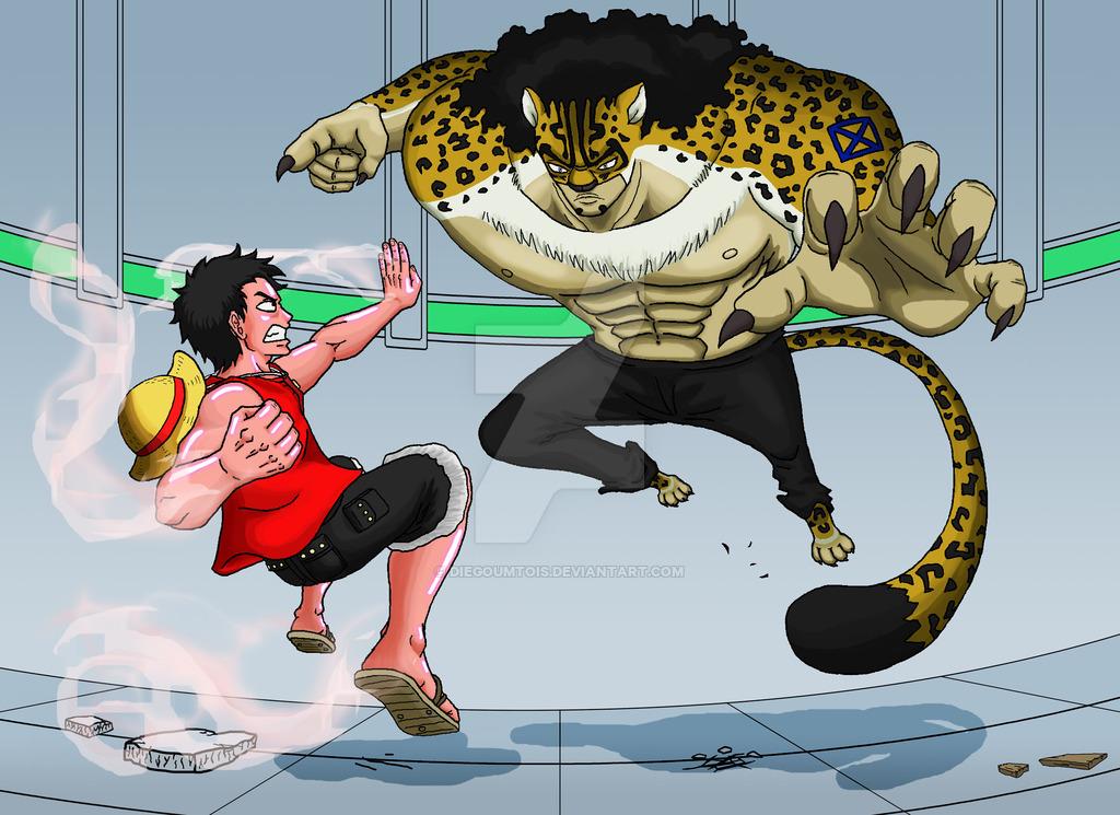 Luffy vs Lucci by DiegoUmTois 1024x745