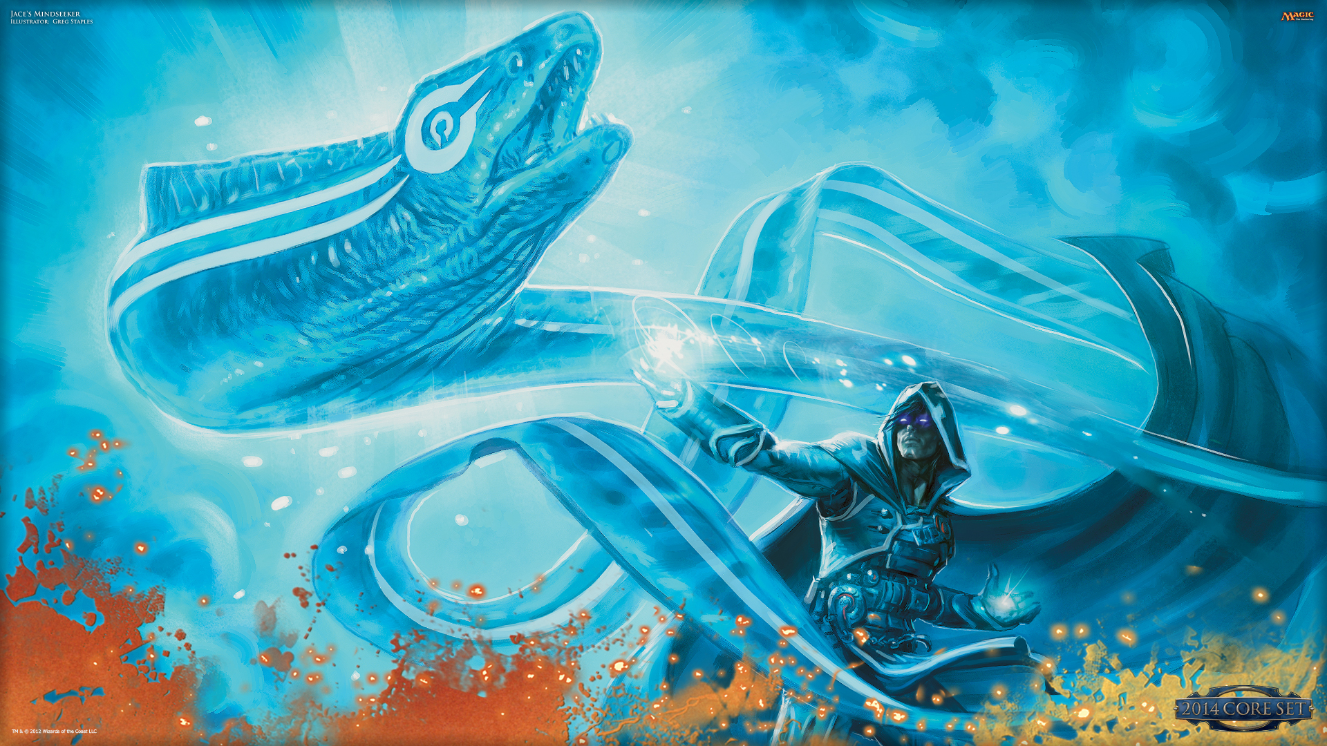 Wallpaper of the Week Jaces Mindseeker MAGIC THE GATHERING 1920x1080