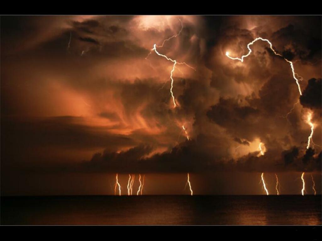 Thunder Sky Computer Background | Thunder Sky Desktop Wallpaper