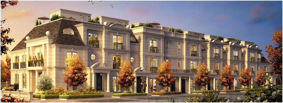 The Bridle Path Lanes are a supper luxury condos town homes located in 905x330
