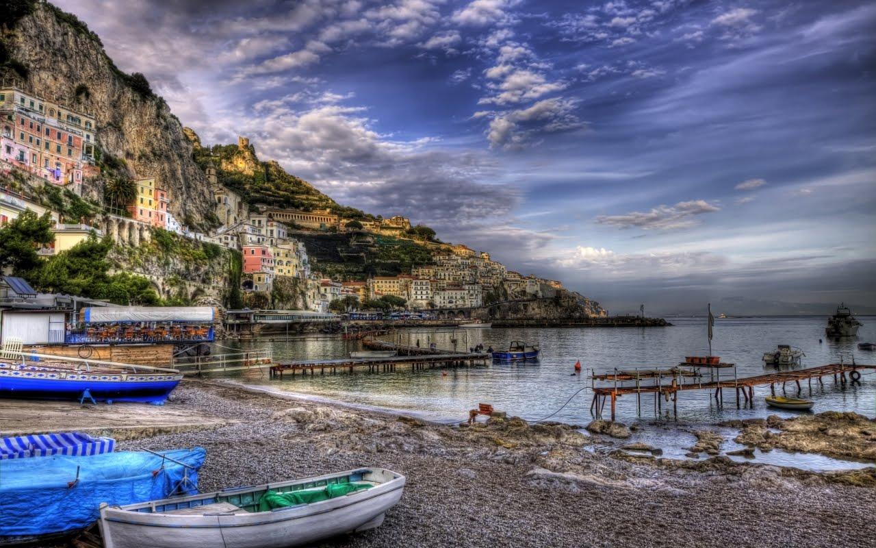 Amalfi Italy Wallpaper Hd Desktop Wallpaper 1280x800