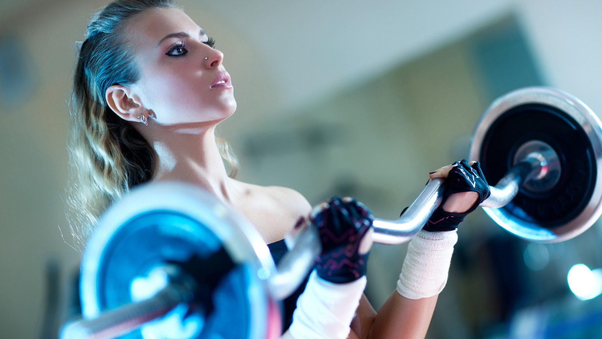 47 gym wallpaper hd on wallpapersafari - Wallpaper fitness women ...
