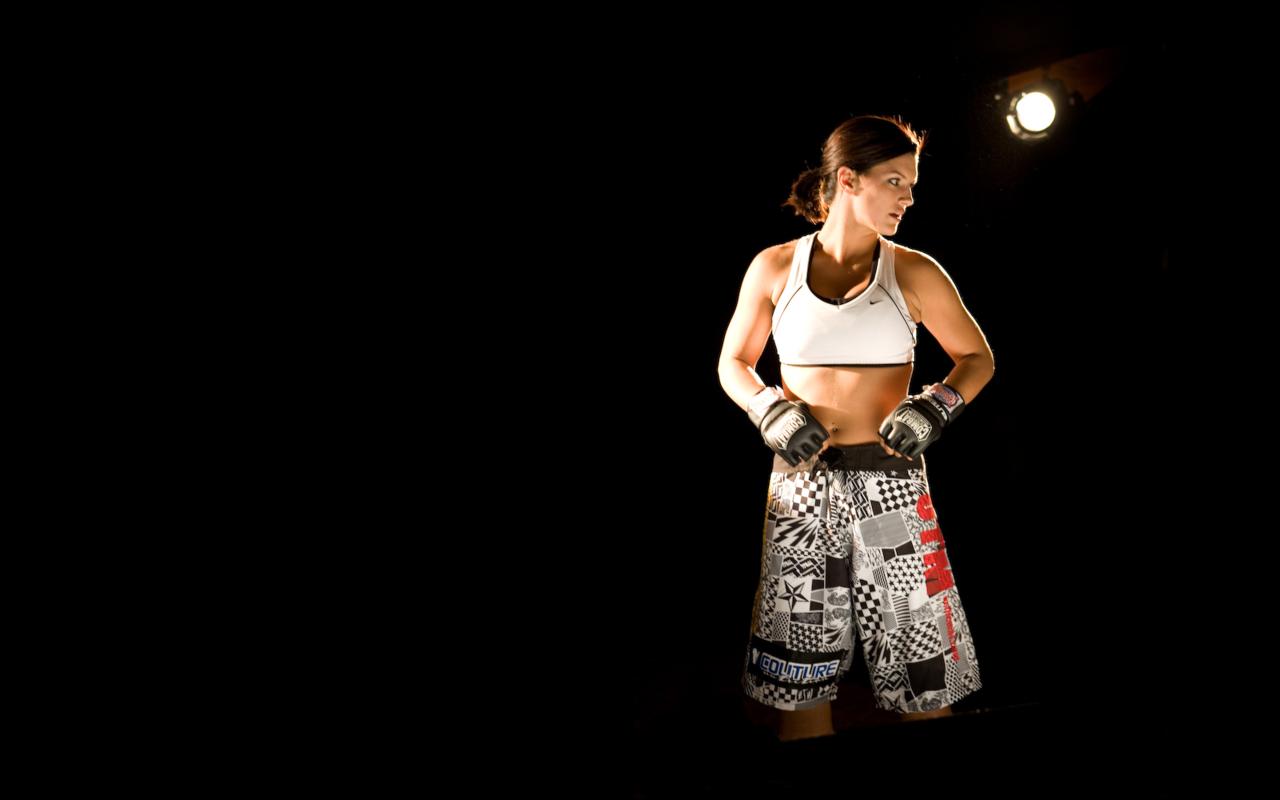 Download Gina Carano Beautiful UFC Fighter HD Wallpaper 3977 Full 1280x800