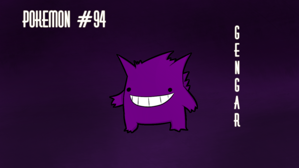 Gengar Wallpaper by TheXHero 1024x576