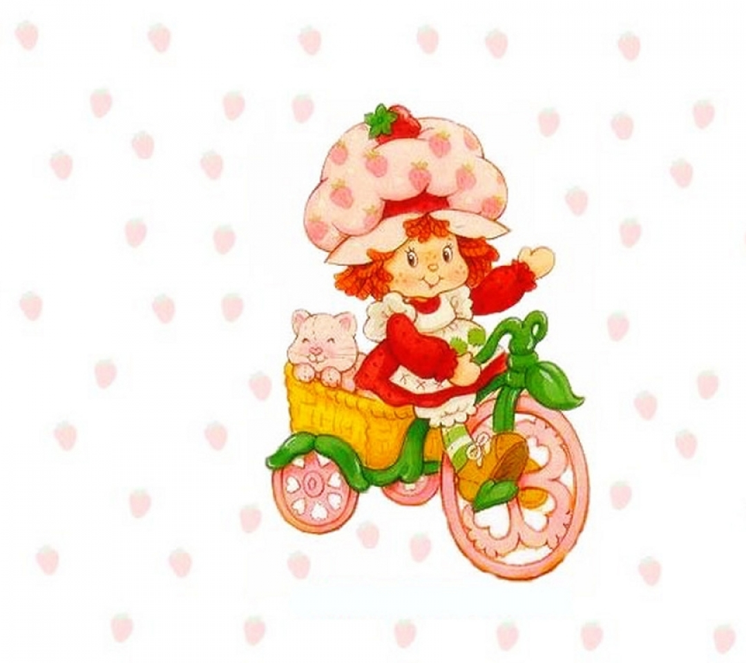 strawberry shortcake 03 1024x768 wallpaper Wallpaper 1080x960