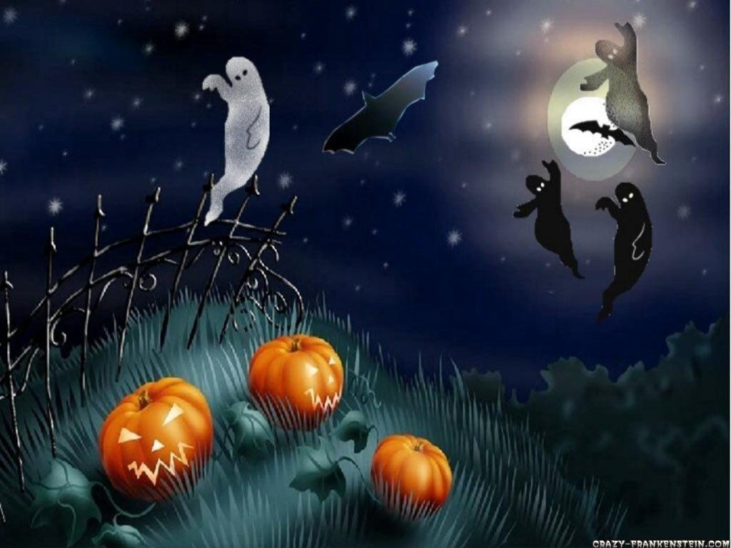 Download Halloween Wallpapers 2011 to Welcome the Ghost Festival 1024x768