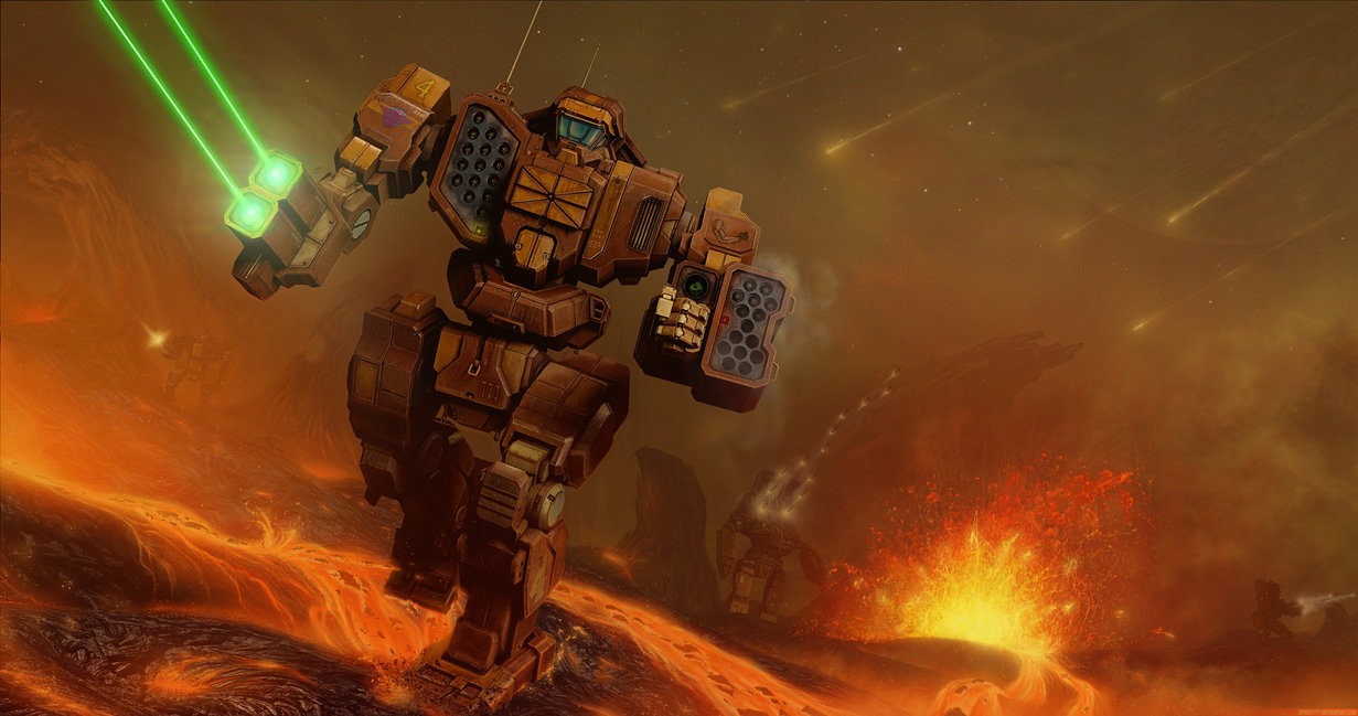 Mechwarrior Online art wallpapers 1231x649