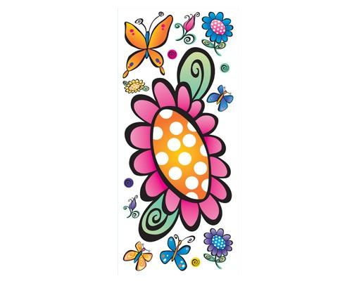 inch butterfly wallpaper border 500x400