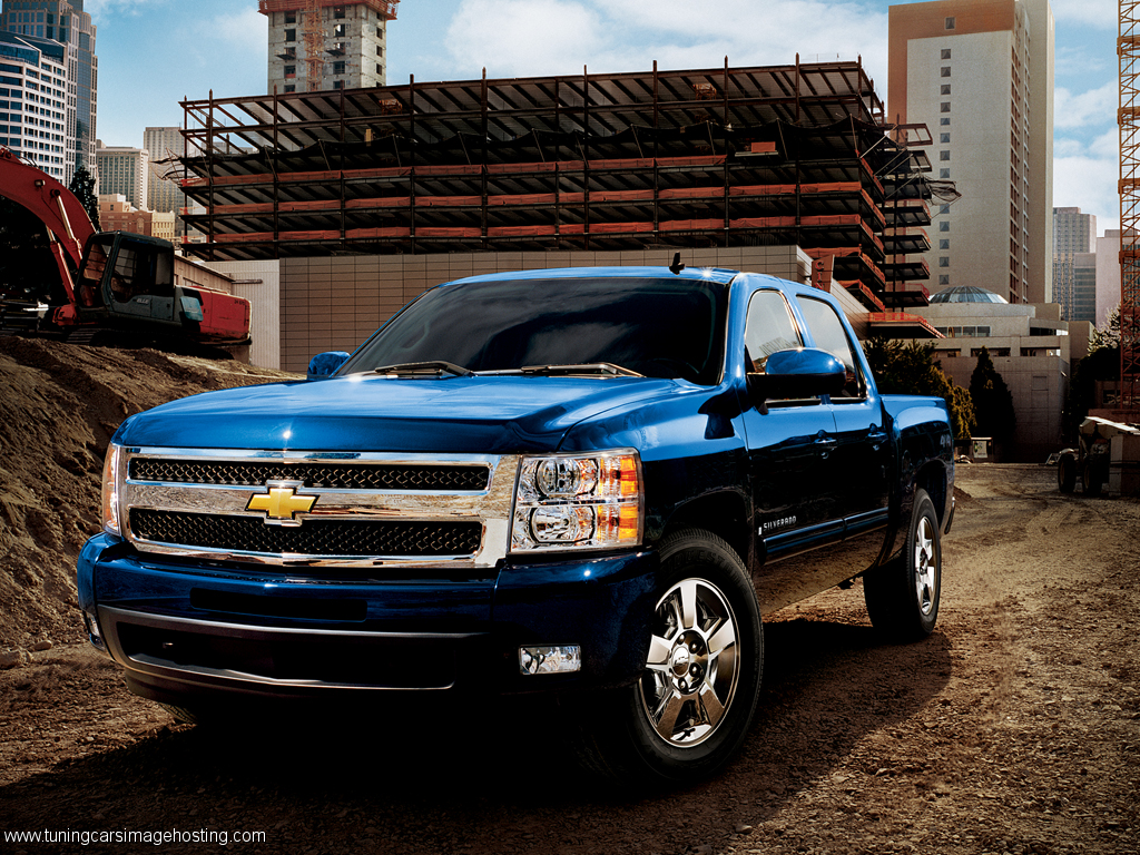 Chevy Silverado Wallpaper 1024x768