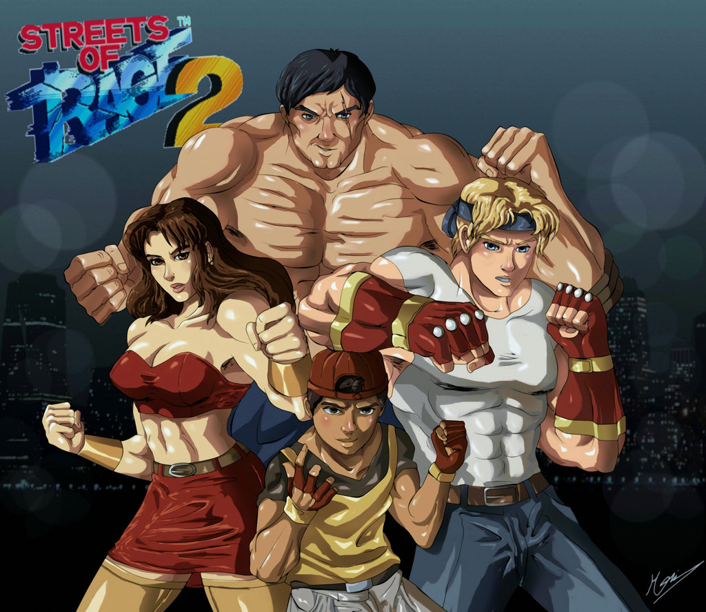 Free Download Streets Of Rage 2 By Theartistt95 1024x887 For