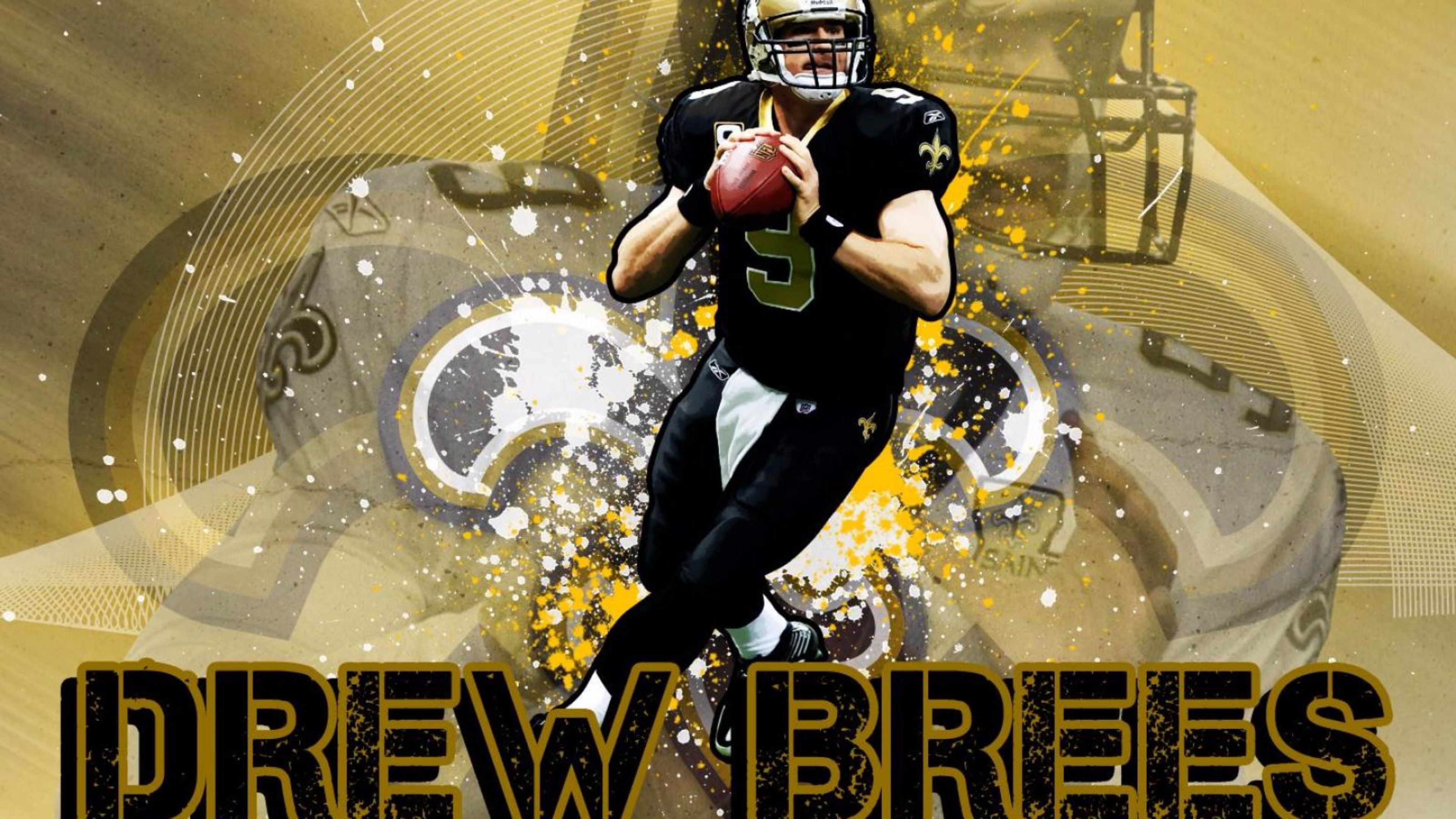 25 Drew Brees Wallpapers   Download at WallpaperBro 3840x2160