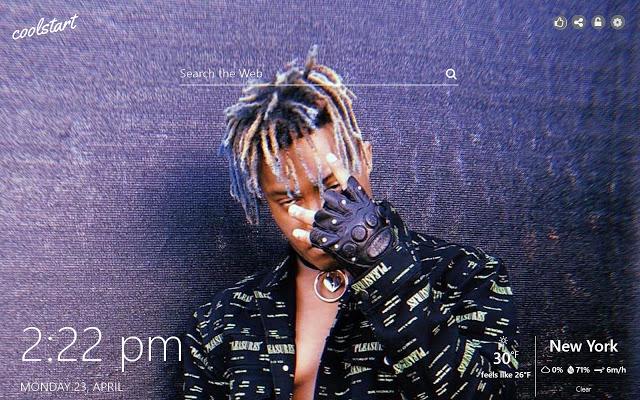 Juice Wrld HD Wallpapers Hip Hop Music Theme   Chrome Web 640x400