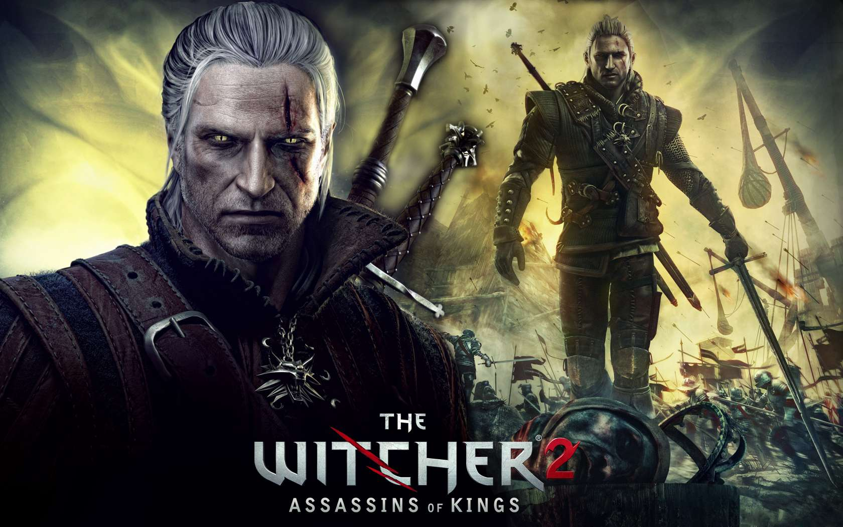 The Witcher 2 Gaming Wallpaper Wallpapers Library 1680x1050