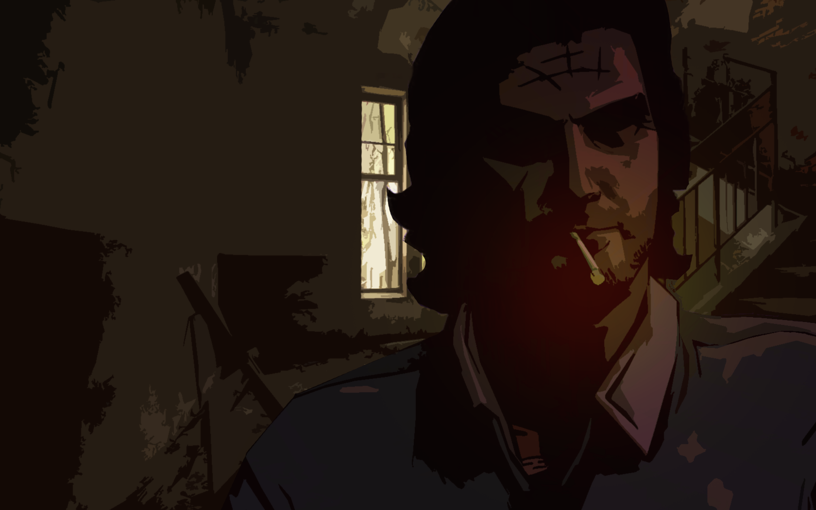 The Wolf Among Us   Wolf Bigby   Wallpaper by SmokeMelvin on 1680x1050