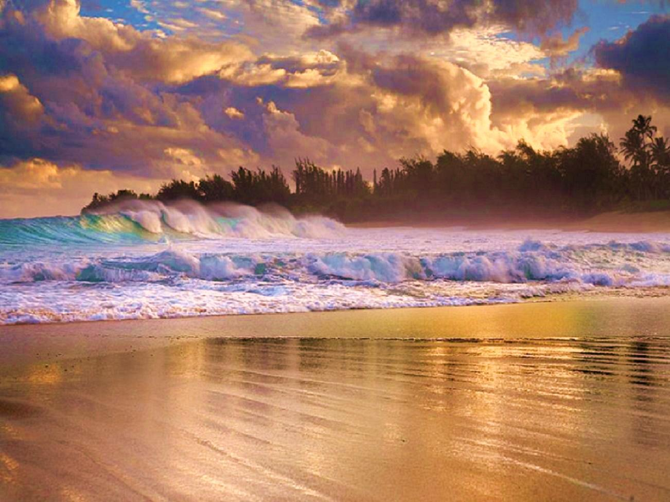 Beach after storm   84342   High Quality and Resolution Wallpapers 1302x976