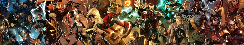 screen - multi monitor - multiple - hero heroes - marvel wallpaper ...