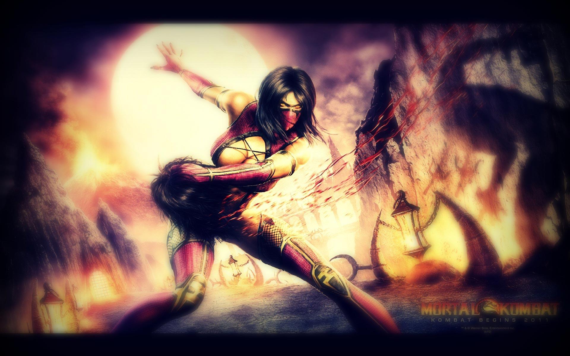 Mortal Kombat Female Characters HD 3D Wallpapers