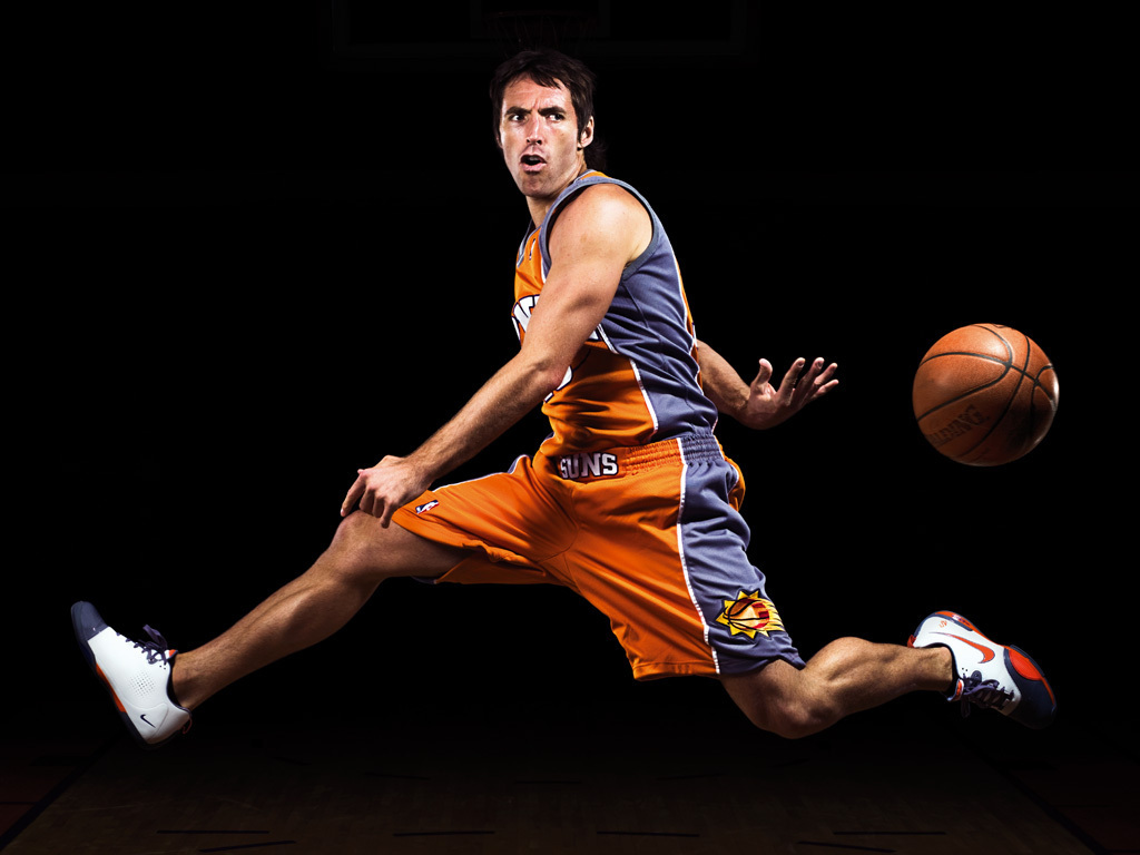 Steve Nash Phoenix Suns Wallpaper 1024x768