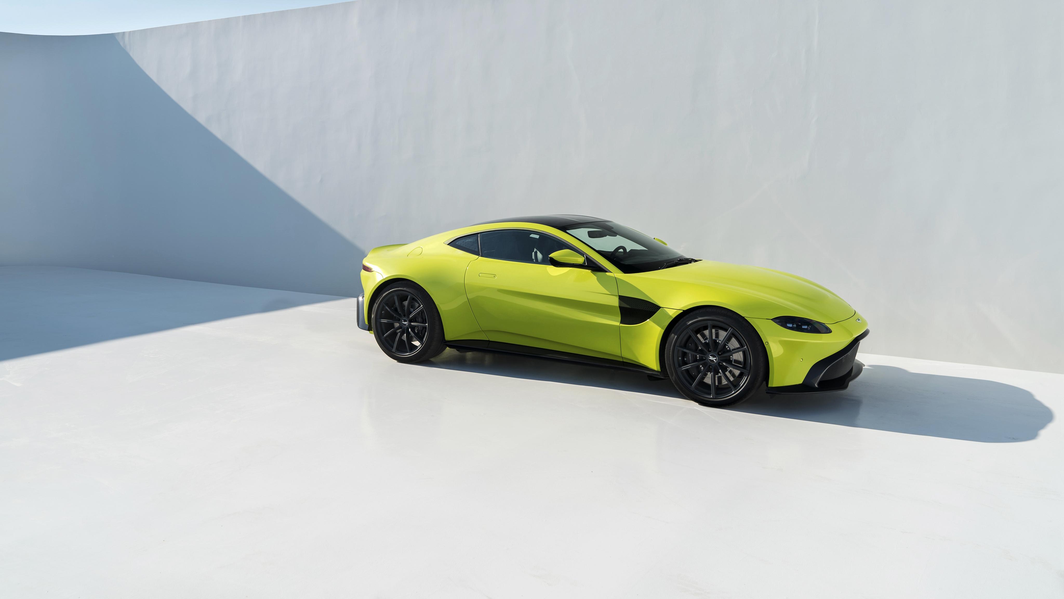 2018 Aston Martin Vantage 4K 5 Wallpaper HD Car Wallpapers ID 4096x2304