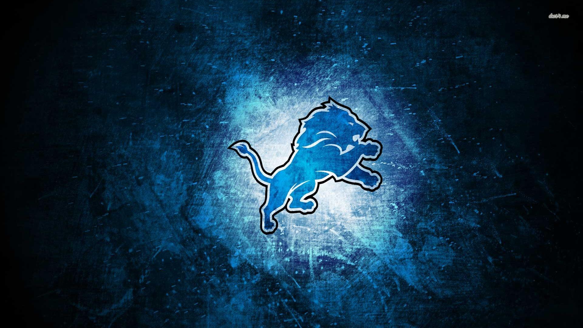 Detroit Lions logo wallpaper   725903 1920x1080
