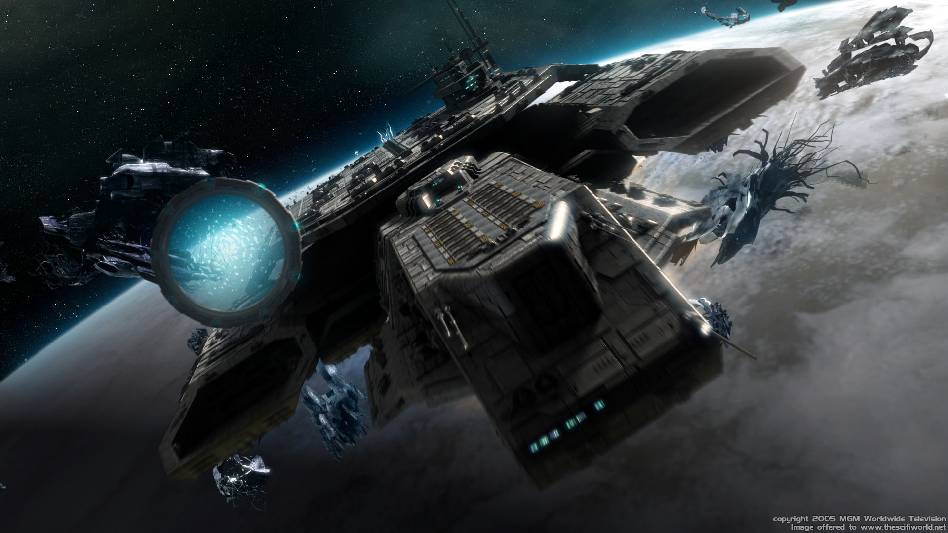 Outer Space Wallpaper 1920x1080 Outer Space Movies Stargate 1920x1080