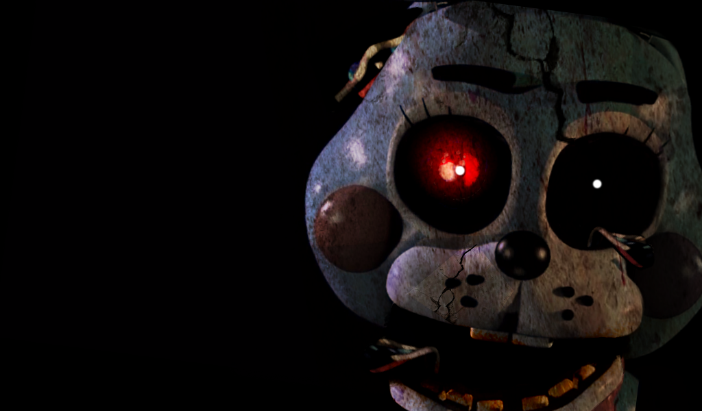 Five Nights at Freddys 2 [Toy Bonnie Old] by Christian2099 on 1024x600