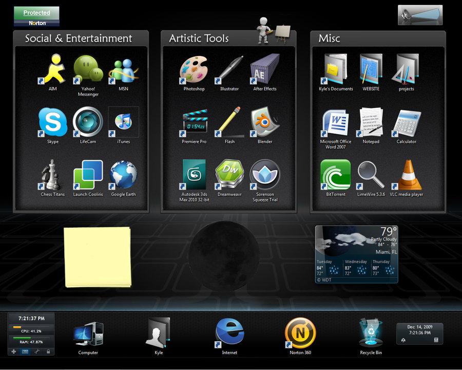 Custom desktop wallpaper by KyleKirkner on deviantART 900x720
