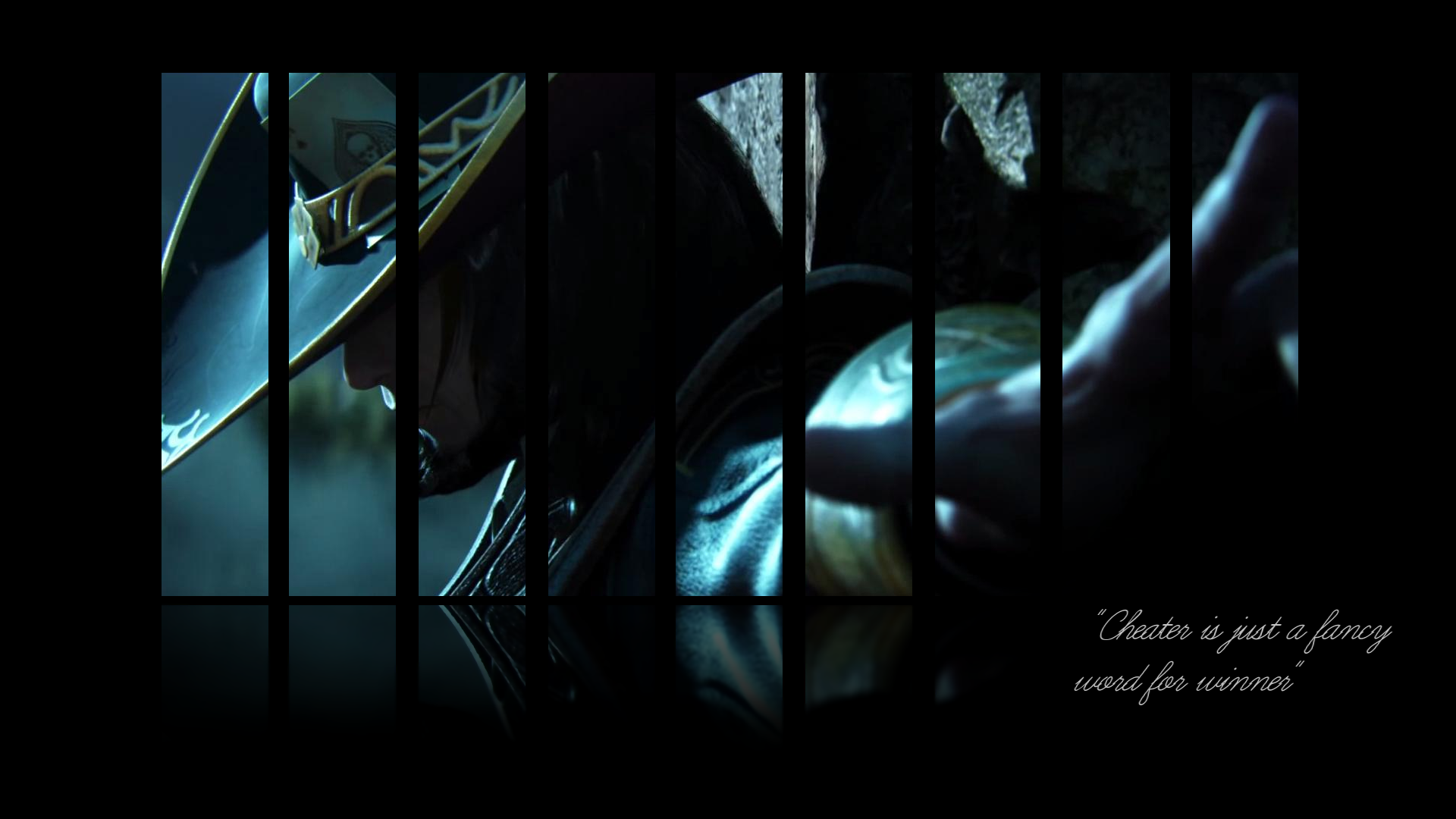 Free Download Twisted Fate Wallpaper I Made When I Got Bored