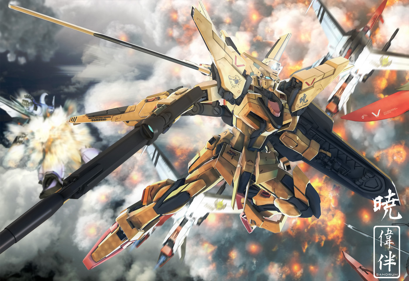 Another 10 Gundam Inspired Wallpapers by deviantArt Artists Gundam 1397x960