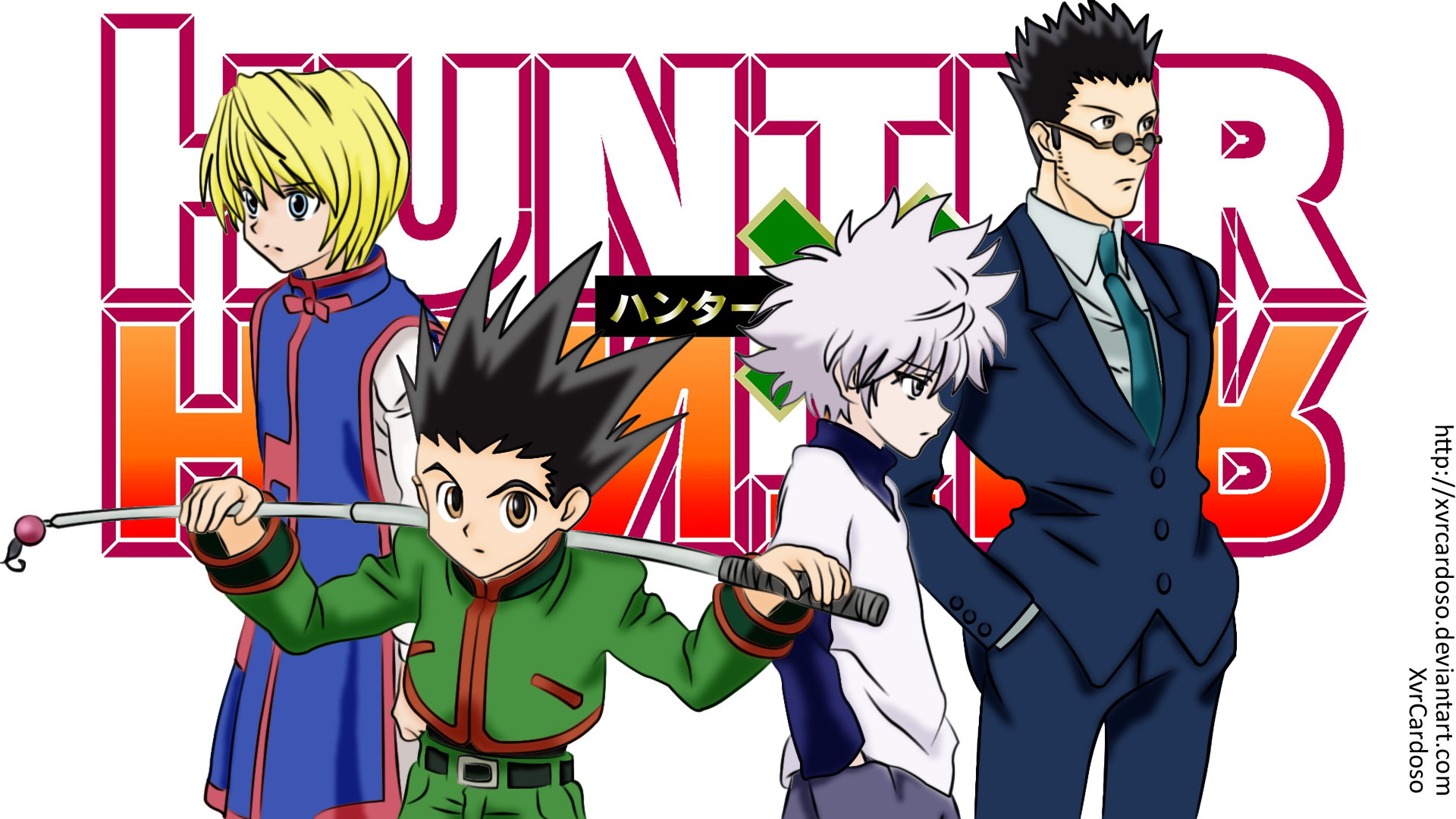 All Characters Hunter X Hunter Anime Image Gallery Wallpaper HD 1920x1080