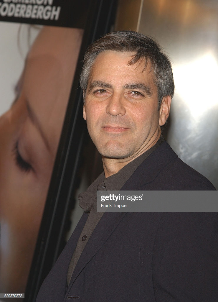 George Clooney arriving at the premiere of Solaris News Photo 740x1024