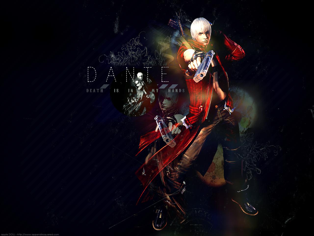 Devil May Cry Dante Wallpaper: DMC Devil May Cry Wallpaper