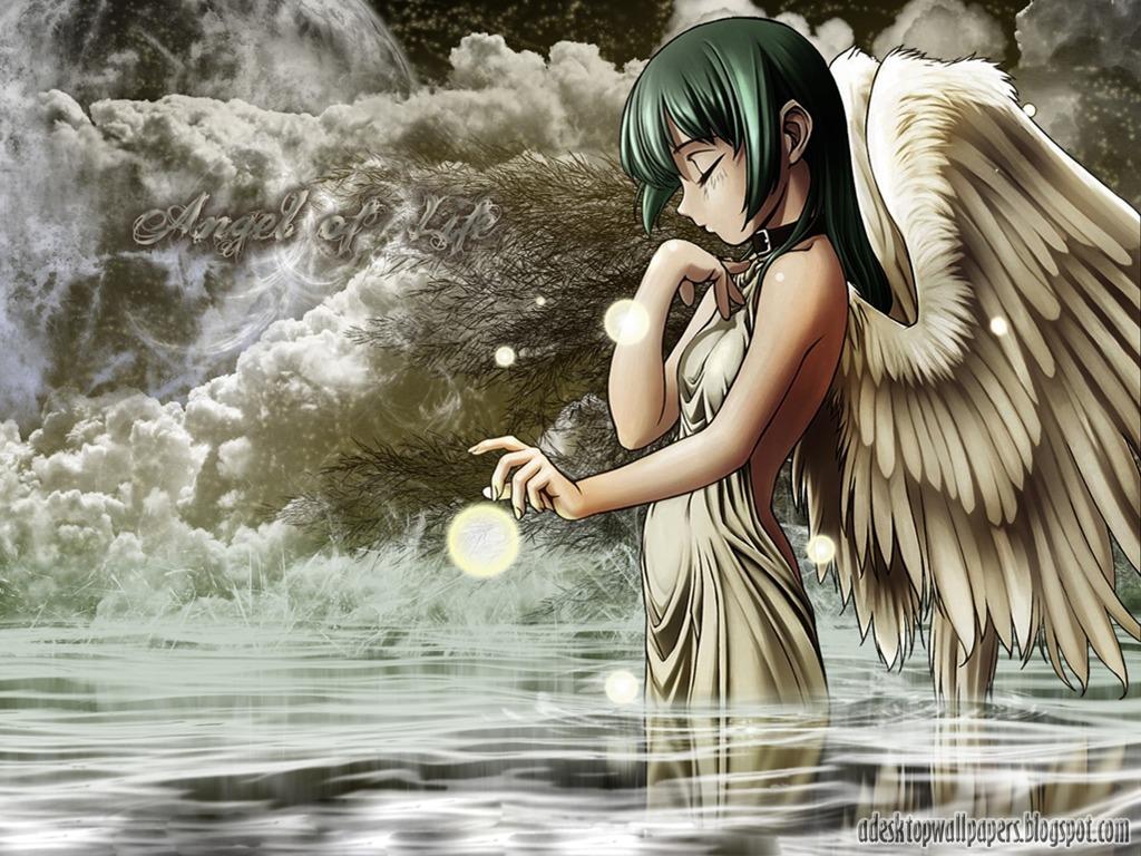 Angel Anime Desktop Wallpapers PC Wallpapers Wallpaper 1024x768