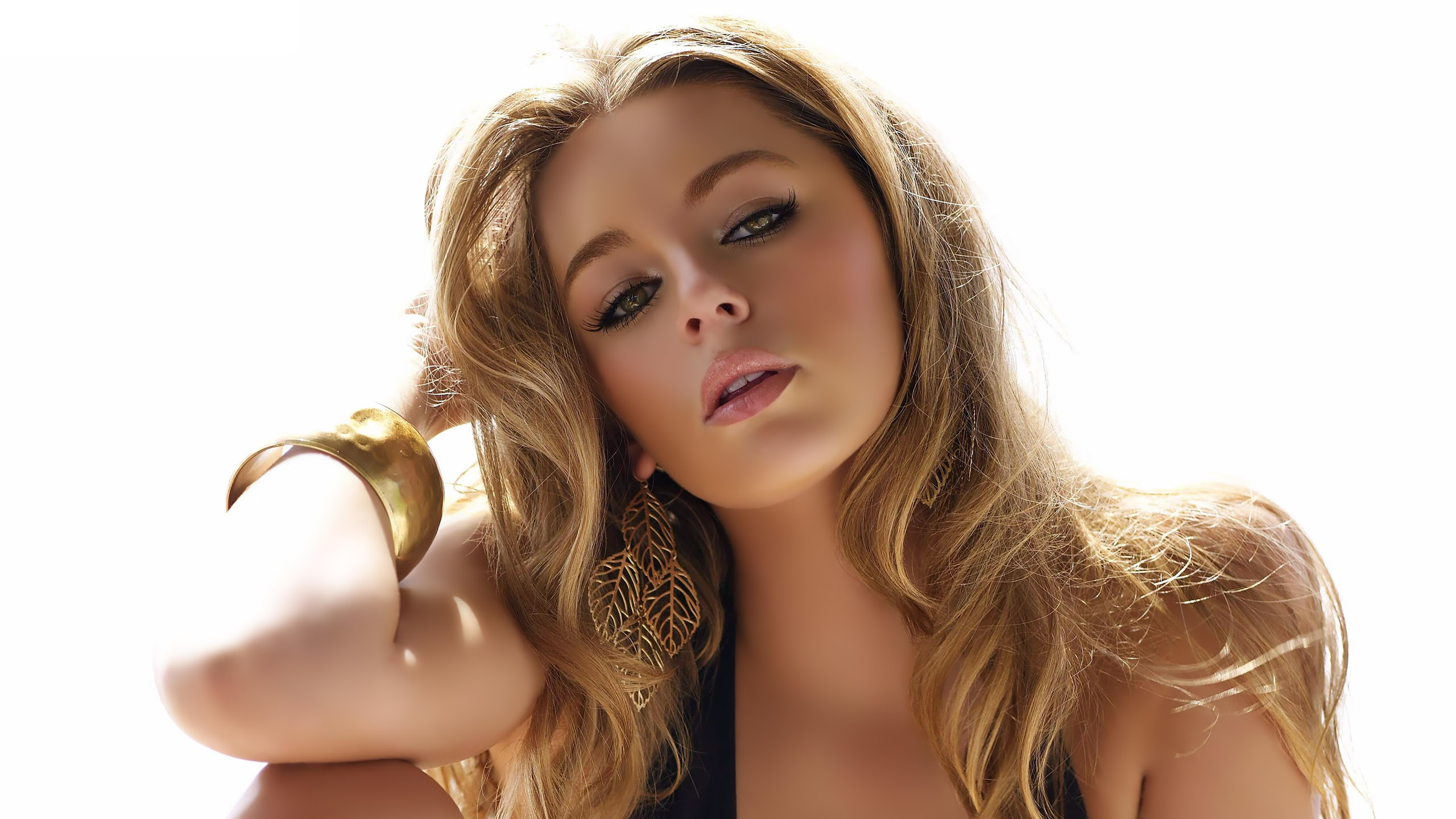 Keeley Hazell HD Wallpaper Background Image 2560x1440 ID 2560x1440