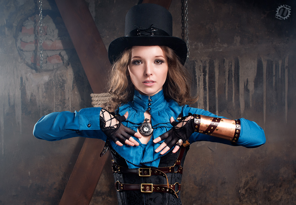 Steampunk Girl II by LahmatTea 950x656