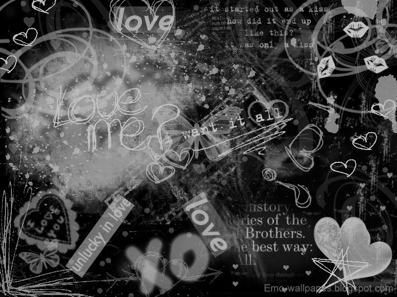 Labels Black n White Backgrounds Emo Backgrounds Top Backgrounds 800x600