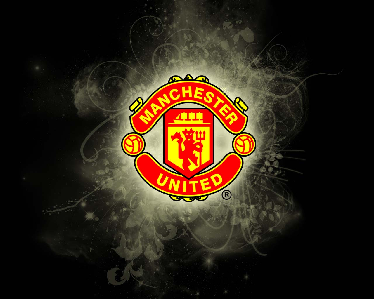 manchester united lion manchester united illusion manchester united 1280x1024