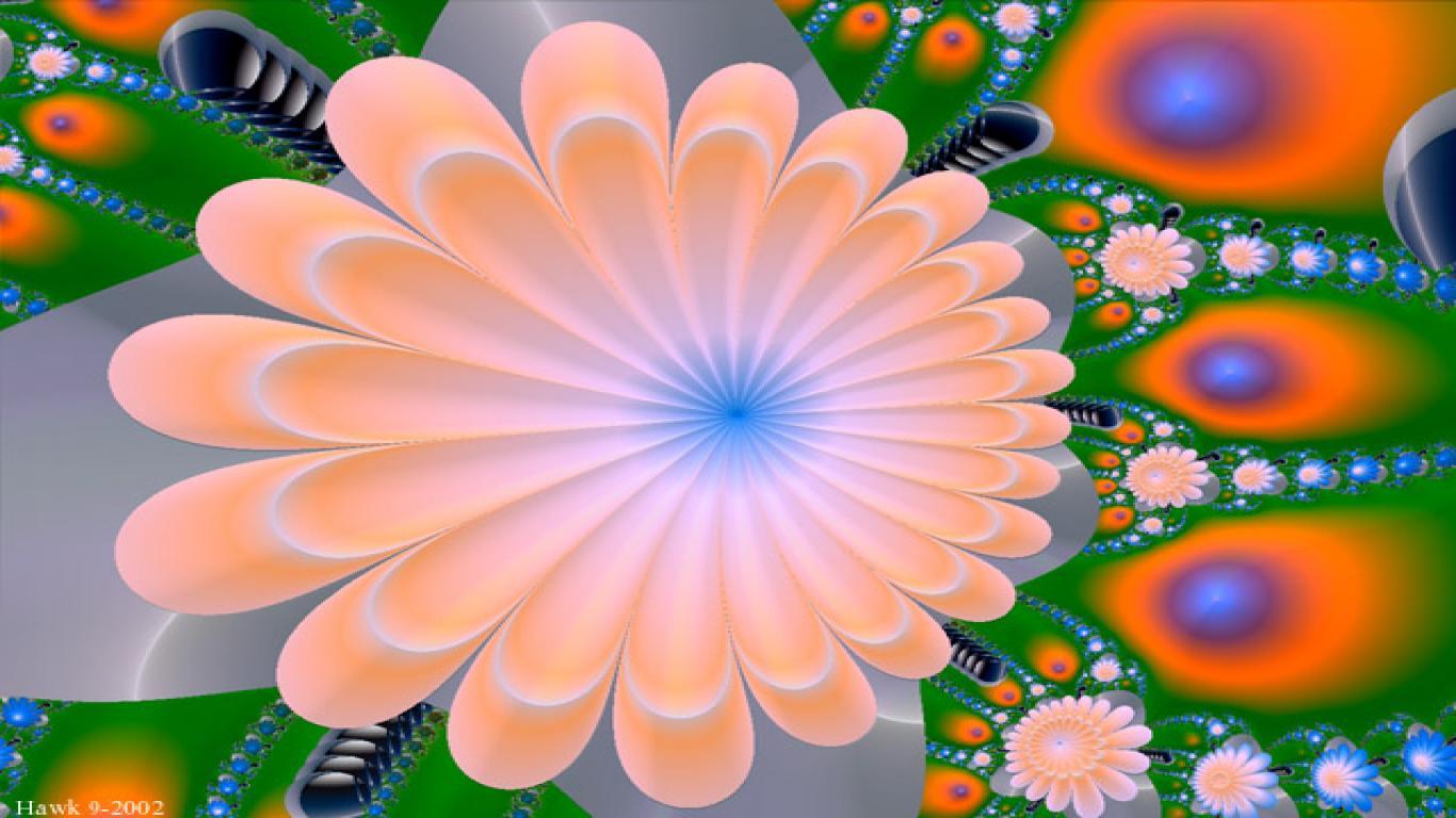 Best Wallpapers 3D 3d Flower Wallpaper 1366768 1366x768